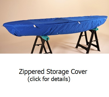 clear canoe storage cover