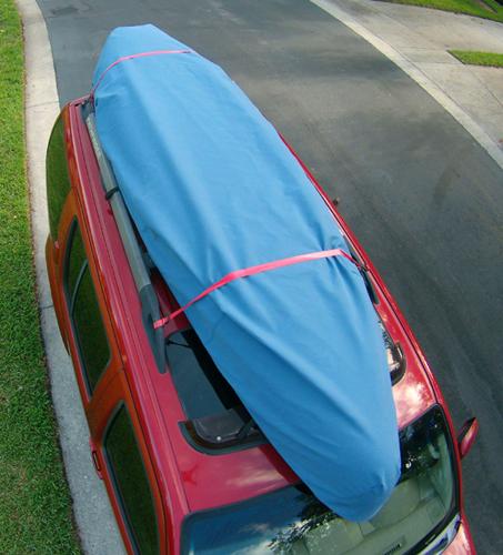 Clear canoe full cover