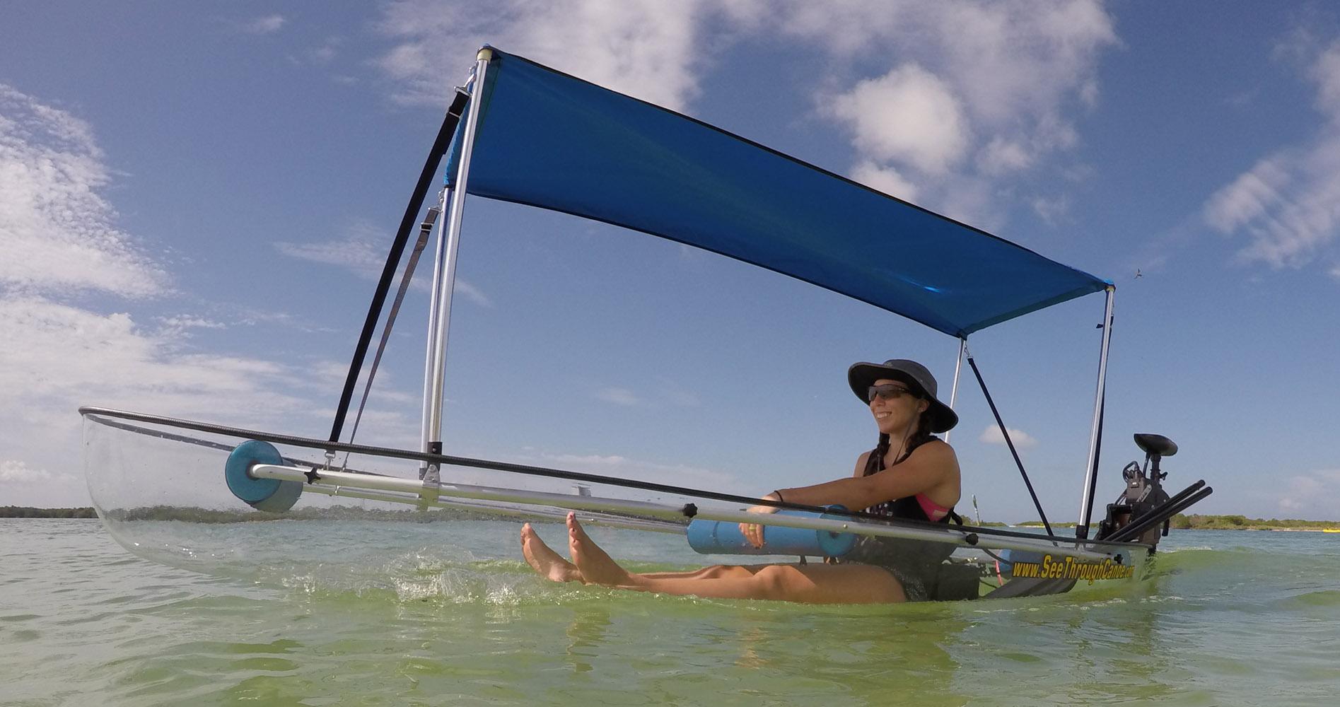 See Through Canoe Since Built Tough Not Cheap The