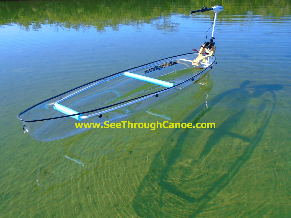 clear canoe stand up kayak 2 person see through canoe