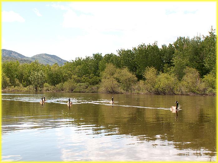 Chatfield Reservoir At Chatfield State Park