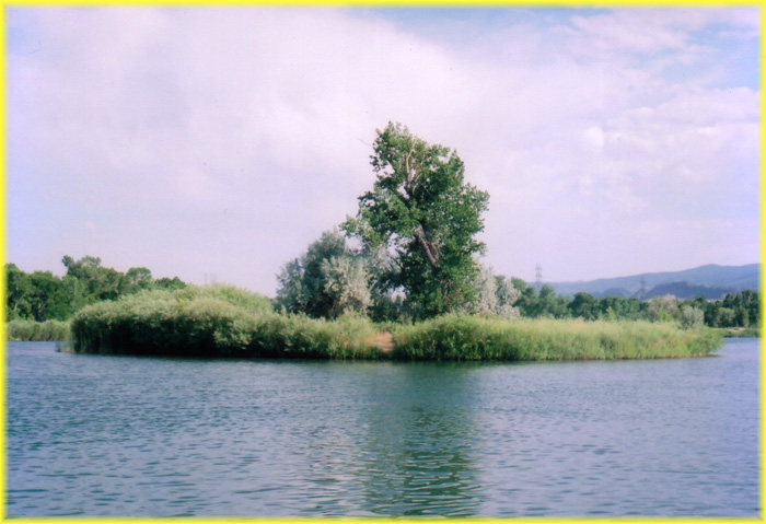 platte river at chatfield reservoir